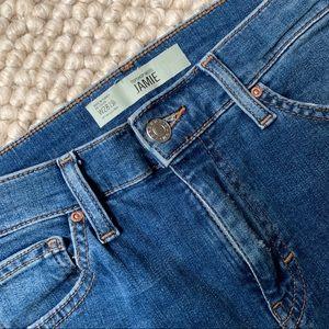 TOPSHOP Jamie Moto Skinny High-rise Jeans - 28